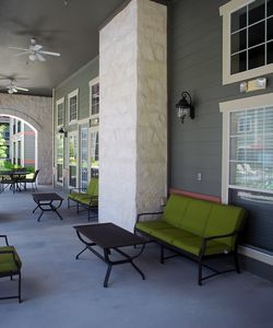 Relax Outside at our Pet-friendly Senior Rent Homes in North Austin TX