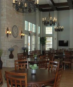 A Spacious Clubhouse Highlights The List Of Communal Amenities At Our Senior Apartments in Schertz TX