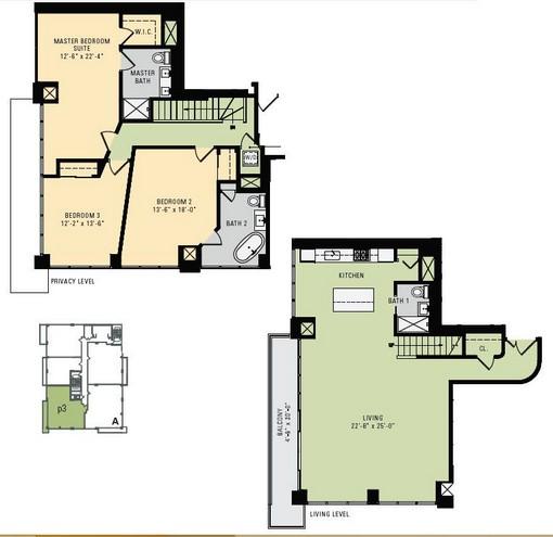 P3 - Penthouse Meridian