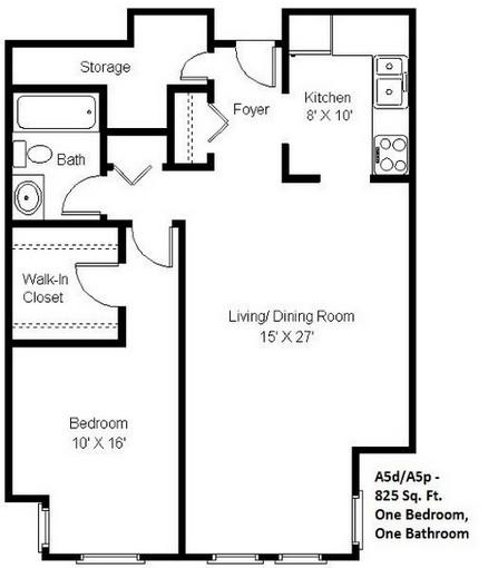 1 Bedroom (A5)