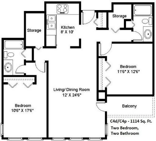 2 bedroom (C4)
