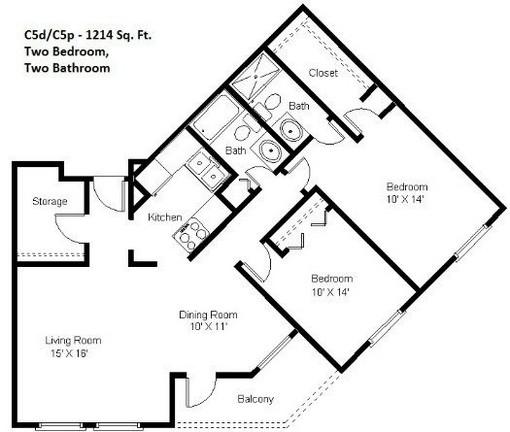2 Bedroom (C5)