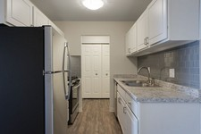 Enjoy Contemporary Kitchen Designs at The Pointe at Cedar Grove Apartments in Eagan, MN.