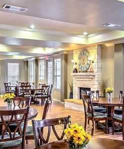 Enjoy Family Gatherings in Our Gorgeous Clubroom at San Gabriel Senior Apartments in Georgetown TX