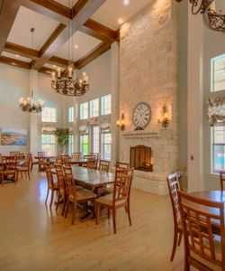 A Spacious Clubhouse Highlights the List of Community Amenities at Our Senior Apartments in Schertz TX