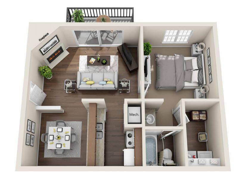 Floor Plan The Brazos