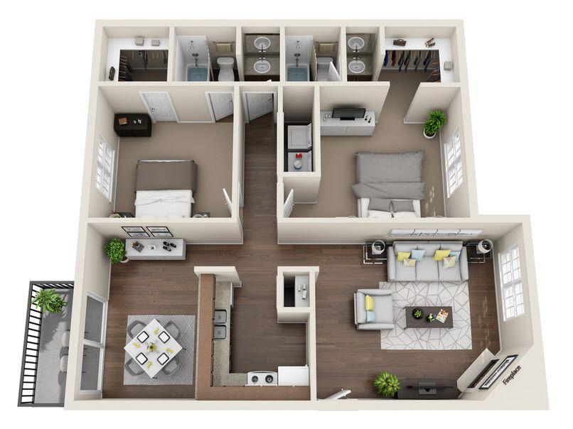 Floor Plan The Colorado