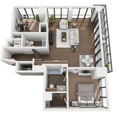 Layout of C3 floor plan
