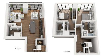 Layout of Penthouse Monaco floor plan