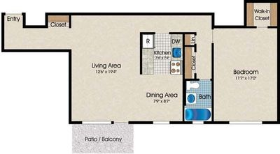 Layout of A10 floor plan
