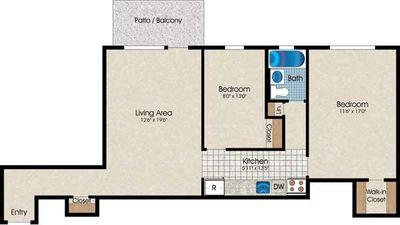 Layout of B4 floor plan