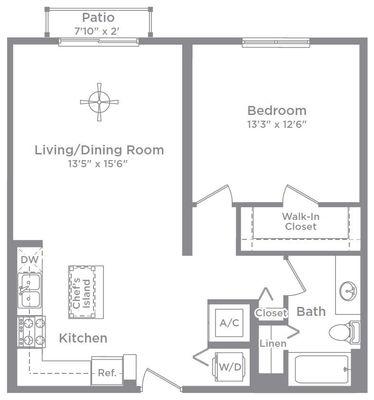 Layout of Aberdeen 2 floor plan