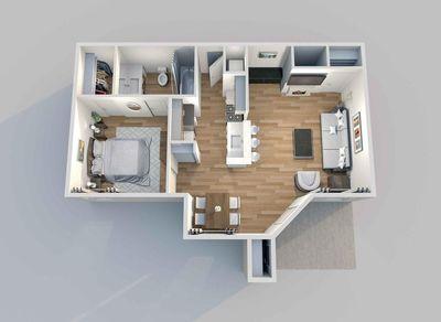 Layout of Ascot floor plan