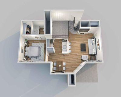 Layout of Derby floor plan
