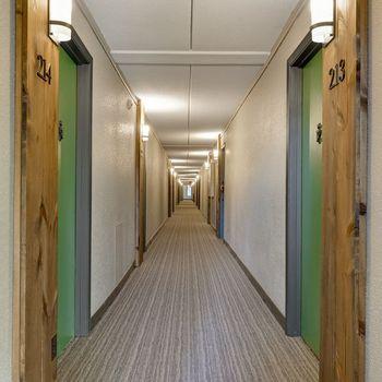 Resident corridor