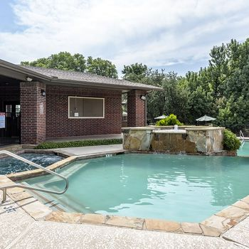 Swimming pool and hot tub