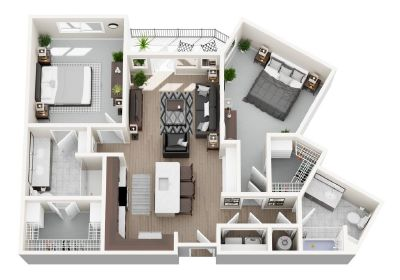 B7 floor plan layout