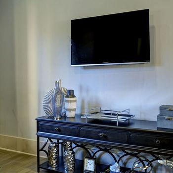 Flat Screen TV in the Clubhouse