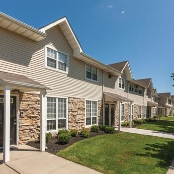 Outside of Townhomes